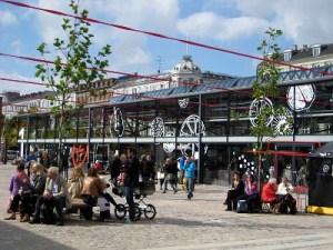 Torvehallene, mercado no centro de Copenhague
