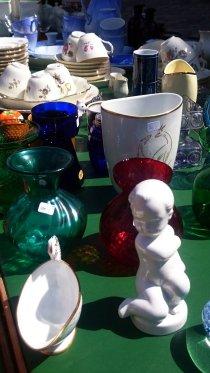 Produtos à venda em feira de usados de Søllerød, ao norte de Copenhague. Foto de Margareth Marmori