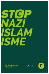 Cartaz do Partido Conservador, Dinamarca 2015.