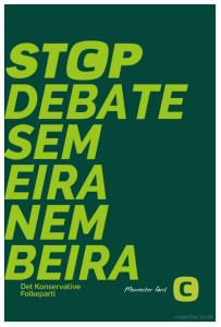 Minha sugestão para um bom cartaz de campanha, feito com no site http://csigerstop.lzy.dk.